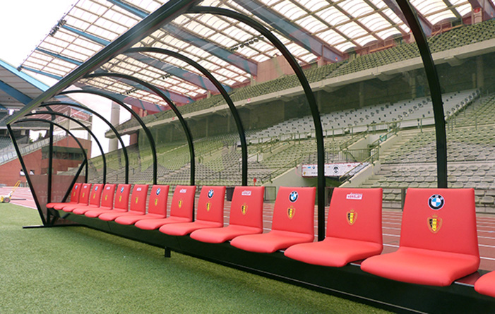 Dug-out Rode Duivels